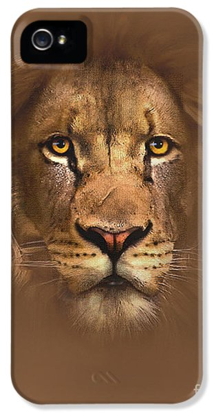 Scarface Lion IPhone 5 Case by Robert Foster