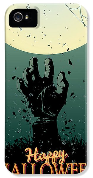 Scary Halloween IPhone 5 Case by Gianfranco Weiss