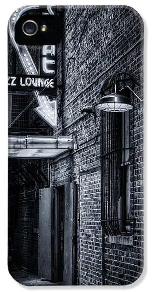 Scat Lounge In Cool Black And White IPhone 5 Case