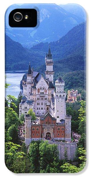 Schloss Neuschwanstein IPhone 5 Case by Timm Chapman