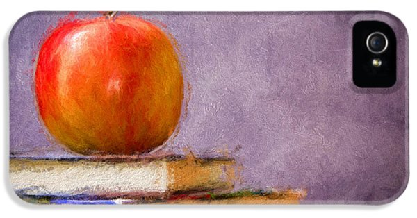 School Apple IPhone 5 Case by Georgiana Romanovna