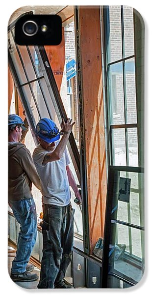 School Building Renovation IPhone 5 Case