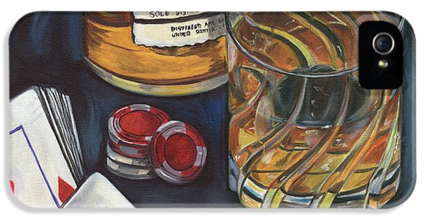 Scotch And Cigars 4 IPhone 5 Case by Debbie DeWitt