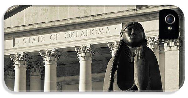 Sculpture Of Native American IPhone 5 Case
