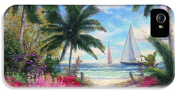 Sea Breeze Trail IPhone 5 Case by Chuck Pinson