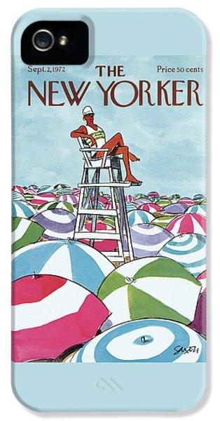 Sea Of Umbrellas IPhone 5 Case