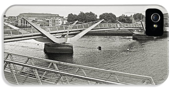 Sean O'casey Bridge Dublin Ireland IPhone 5 Case by Betsy Knapp