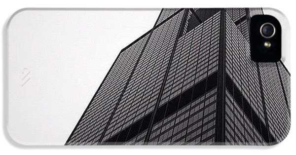 Architecture iPhone 5 Case - Sears Tower by Mike Maher