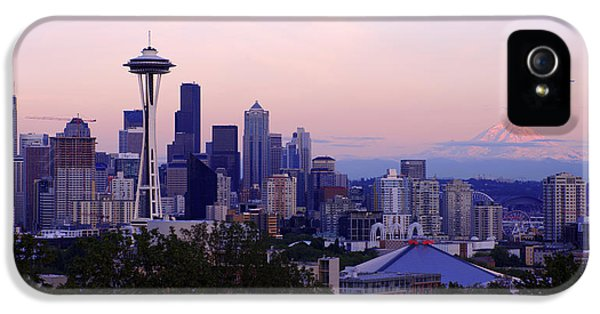 Seattle Dawning IPhone 5 / 5s Case by Chad Dutson