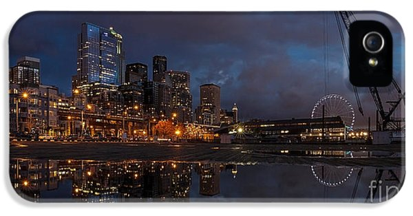 Seattle Night Skyline IPhone 5 Case