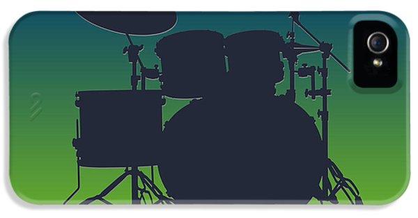 Seattle Seahawks Drum Set IPhone 5 Case by Joe Hamilton
