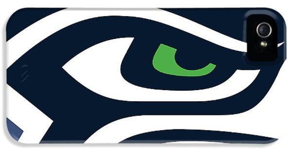 Legends iPhone 5 Case - Seattle Seahawks by Tony Rubino
