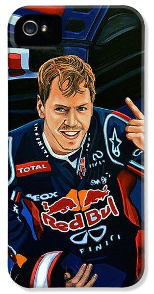 Sebastian Vettel IPhone 5 Case by Paul Meijering