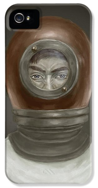 Self Portrait IPhone 5 Case by Balazs Solti