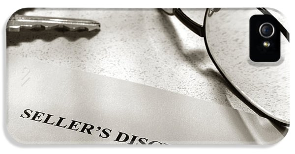 Seller Property Disclosure IPhone 5 Case by Olivier Le Queinec