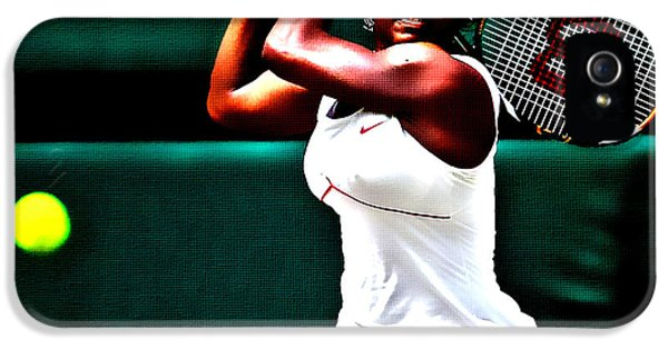 Serena Williams 3a IPhone 5 / 5s Case by Brian Reaves
