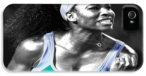 Serena Williams Ace IPhone 5 Case by Brian Reaves
