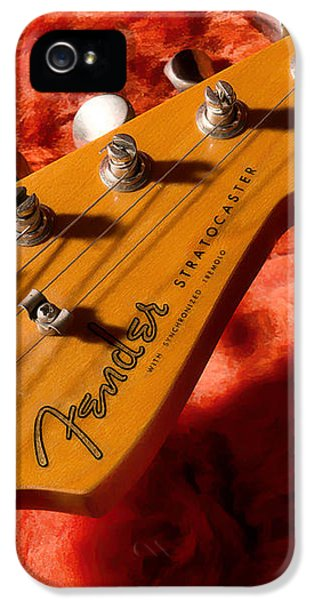 Rock And Roll iPhone 5 Case - Shadowcaster by Douglas Pittman