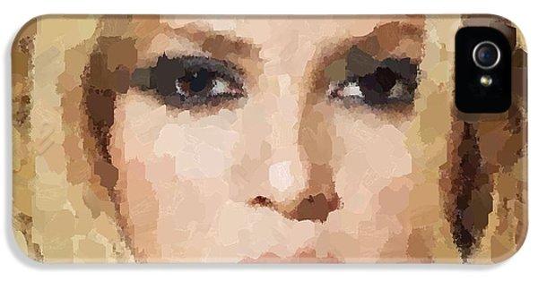 Shakira Portrait IPhone 5 / 5s Case by Samuel Majcen