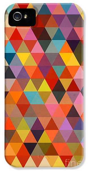 Shapes IPhone 5 / 5s Case by Mark Ashkenazi