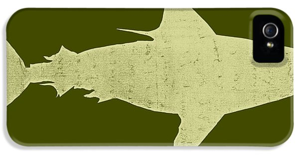 Shark IPhone 5 Case by Michelle Calkins