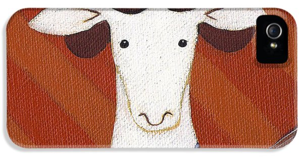 Sheep iPhone 5 Case - Sheep Guitar by Christy Beckwith