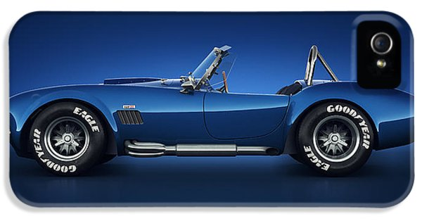 Shelby Cobra 427 - Water Snake IPhone 5 Case by Marc Orphanos