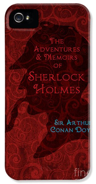 Sherlock Holmes Book Cover Poster Art 4 IPhone 5 Case by Nishanth Gopinathan