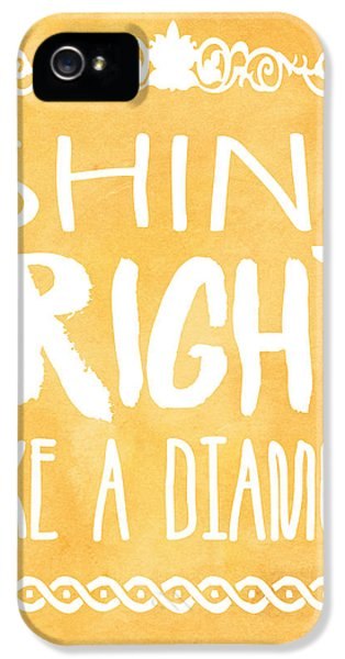 Shine Bright Orange IPhone 5 Case by Pati Photography