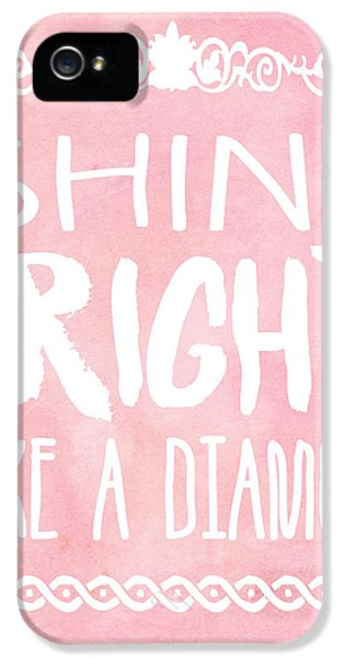 Shine Bright IPhone 5 Case by Pati Photography