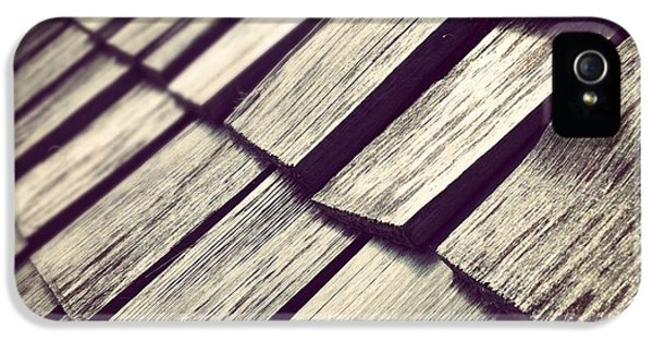 Architecture iPhone 5 Case - Shingles by Christy Beckwith