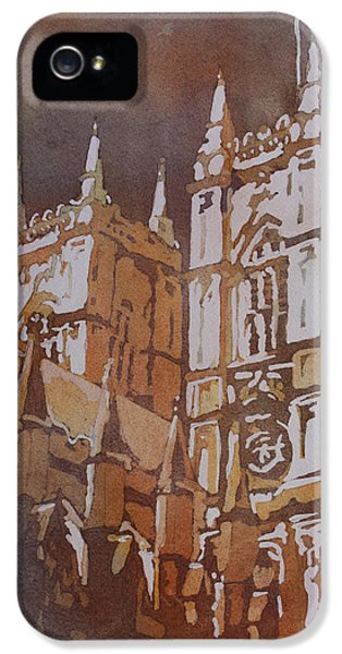 Shining Out Of The Rain IPhone 5 Case by Jenny Armitage