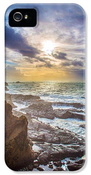 Shore Acres Storm IPhone 5 Case by Robert Bynum