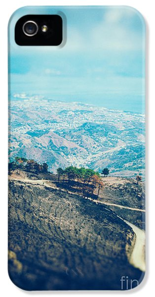 IPhone 5 Case featuring the photograph Sicilian Land After Fire by Silvia Ganora