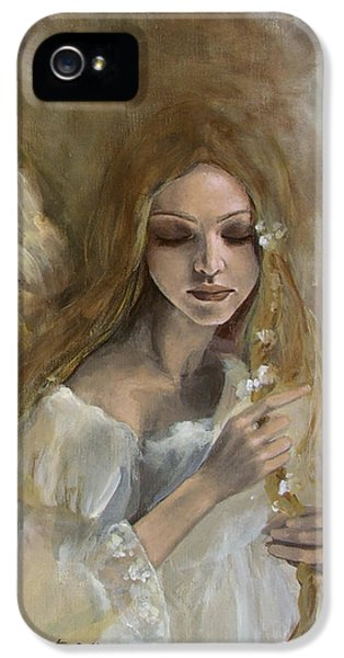 Silence IPhone 5 Case by Dorina  Costras