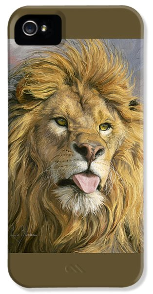 Silly Face IPhone 5 Case by Lucie Bilodeau