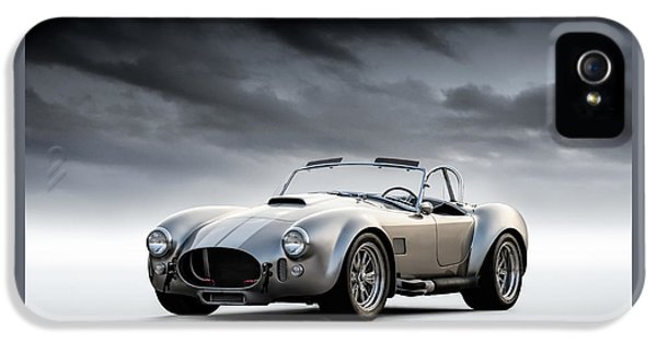 Silver Ac Cobra IPhone 5 Case by Douglas Pittman