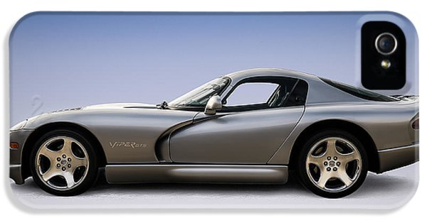 Silver Viper IPhone 5 Case by Douglas Pittman