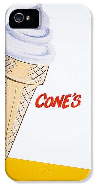 Single Cone IPhone 5 Case by Samuel Whitton