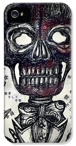 Skull And Equality IPhone 5 Case