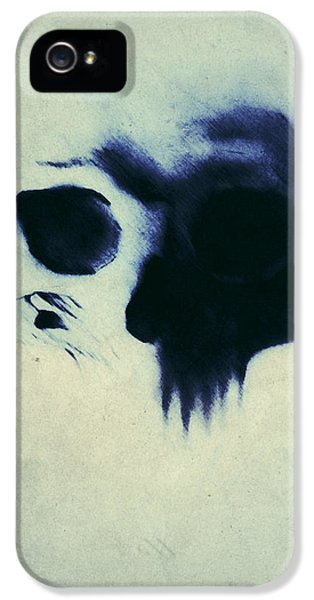 Skull IPhone 5 Case by Nicklas Gustafsson