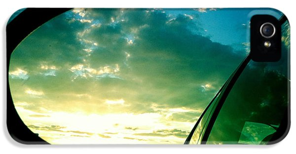 Sky In The Rear Mirror IPhone 5 Case