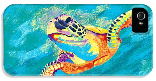 Turtle iPhone 5 Case - Slow Ride by Kevin Putman