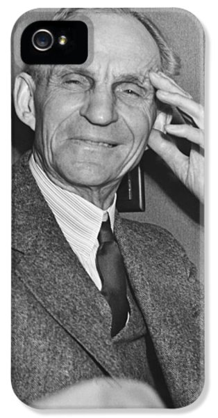 Smiling Henry Ford IPhone 5 / 5s Case by Underwood Archives