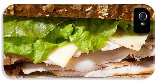 Smoked Turkey Sandwich IPhone 5 Case by Edward Fielding