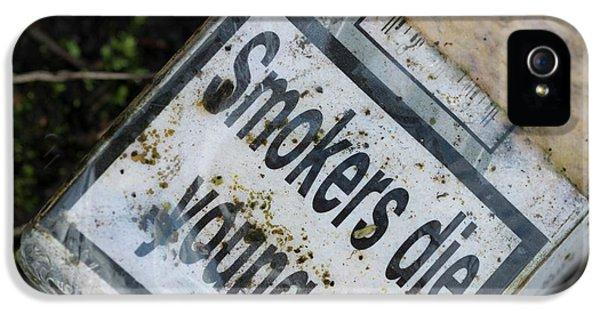 Smoking Health Warning IPhone 5 Case by Robert Brook