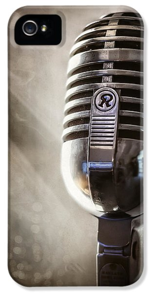 Smoky Vintage Microphone IPhone 5 Case