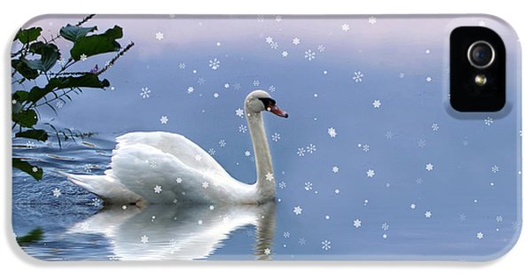 Snow Swan II IPhone 5 Case