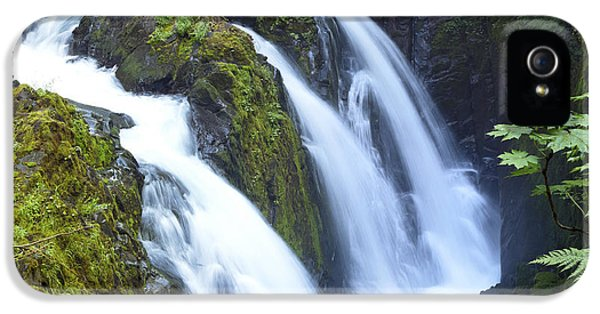 Sol Duc Waterfalls In Olympic National Park IPhone 5 Case by King Wu