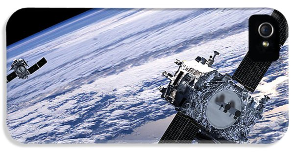 Solar Terrestrial Relations Observatory Satellites IPhone 5 Case by Anonymous